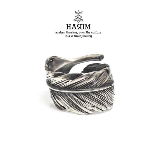 HARIM HRR040 BK Feather Ring