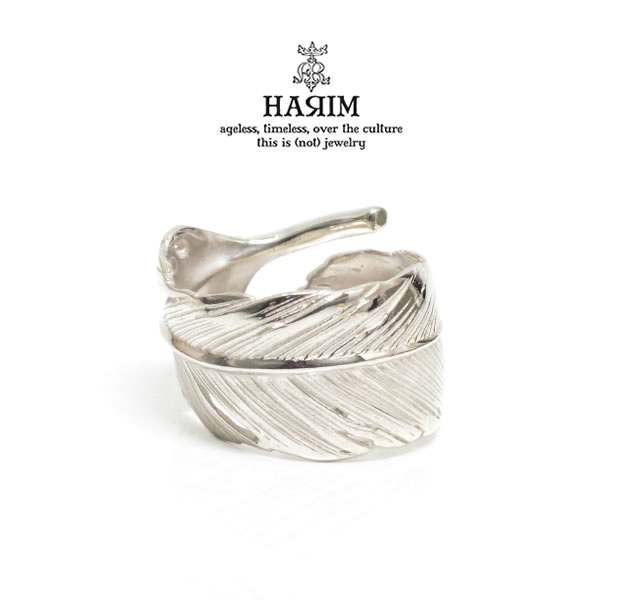 HARIM HRR040 WH Feather Ring