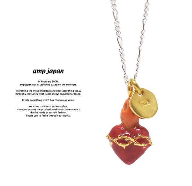 amp japan 17AKHK-111 Sacred Heart Necklace