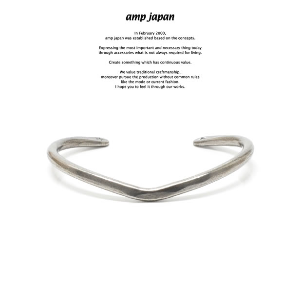 amp japan 17AO-307 'V'shape Bangle
