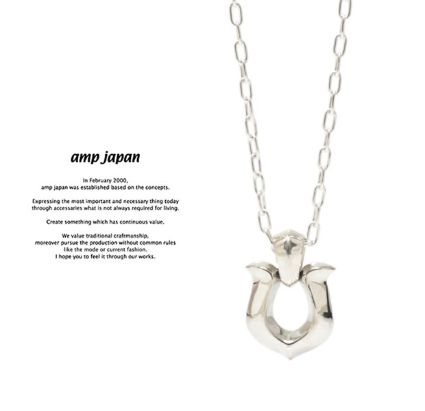amp japan 17AJK-121 Horseshoe Necklace