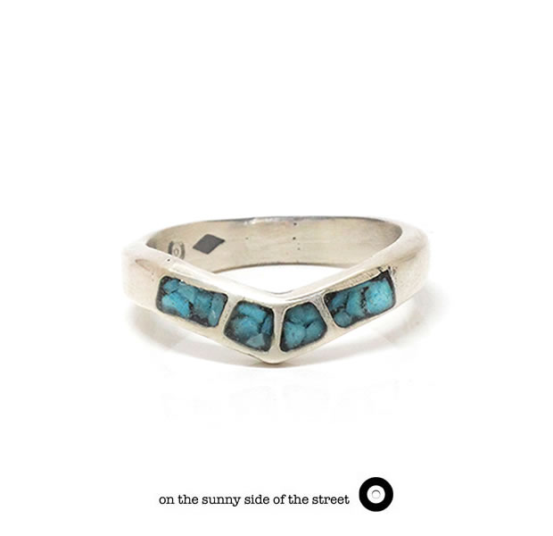 on the sunny side of the street 710-237/TURQUOISE