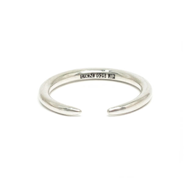"UNKNOWN. U502 "" RE:TAPERED "" RING / SILVER"