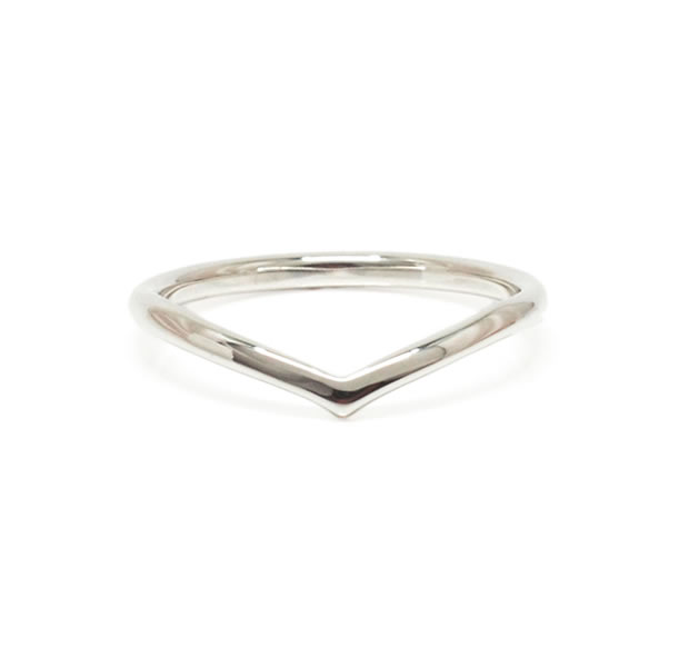 "UNKNOWN. U508 "" VICTORY "" M RING / SILVER"