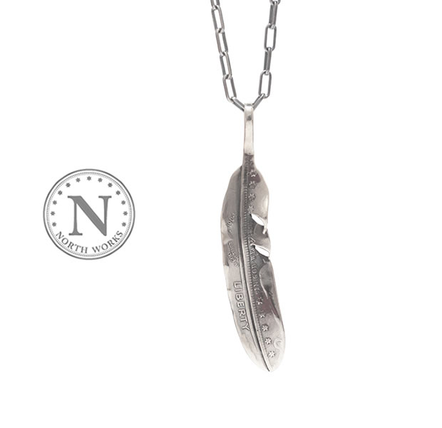 NORTH WORKS N-530 Feather Necklace