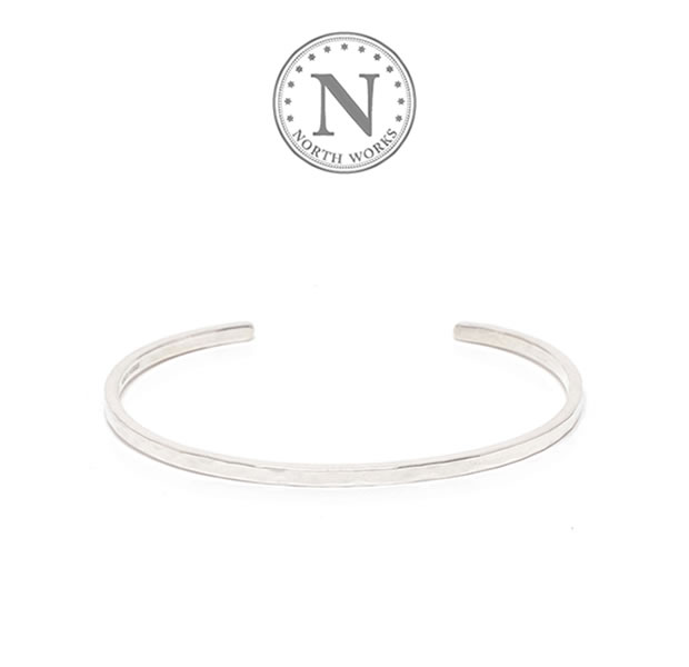 NORTH WORKS W-301 Stamped Bangle