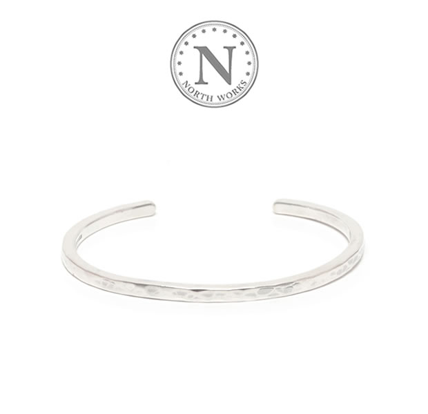 NORTH WORKS W-302 Stamped Bangle