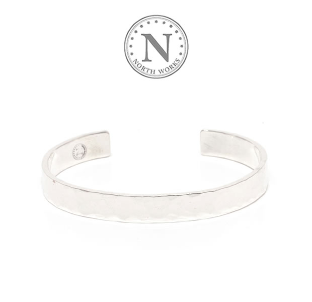 NORTH WORKS W-303 Stamped Bangle