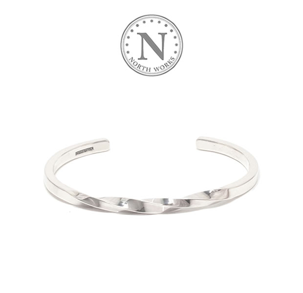 NORTH WORKS W-307 Twisted Bangle