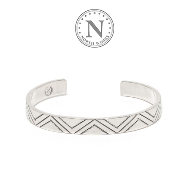 NORTH WORKS W-311 Stamped Bangle