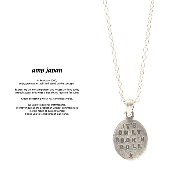 amp japan 17AJK-153 IT'S ONLY ROCK'N ROLL Necklace