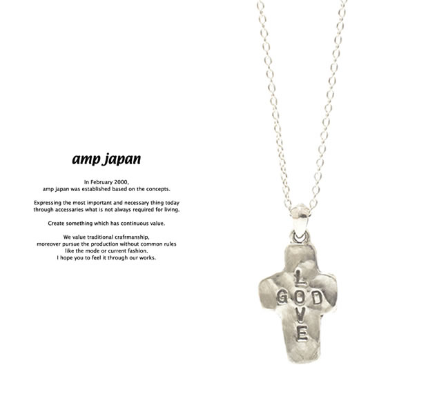 amp japan 17AJK-158 GOD LOVE Necklace