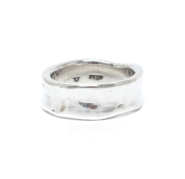 "UNKNOWN. U042 "" CRASH1 "" RING / SILVER"