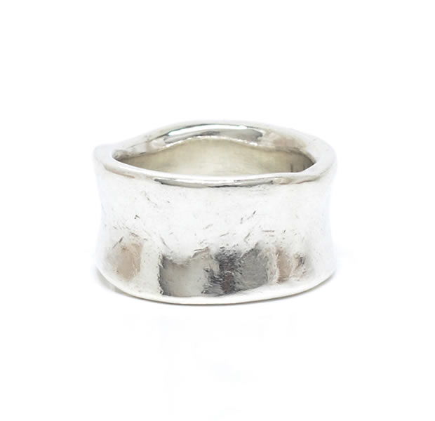 "UNKNOWN. U043 "" CRASH2 "" RING / SILVER"