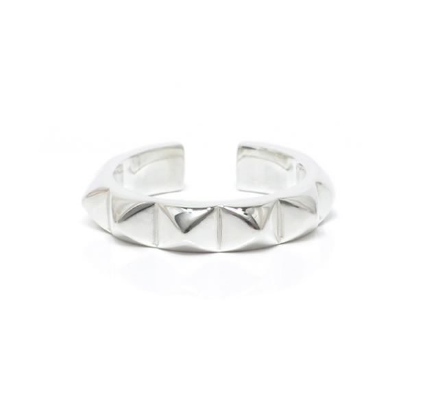 "UNKNOWN. U044 "" STUDS3 "" RING / SILVER"