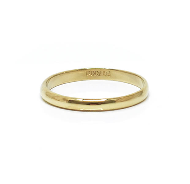 "UNKNOWN. U513 "" INSTEP1 "" RING / BRASS"