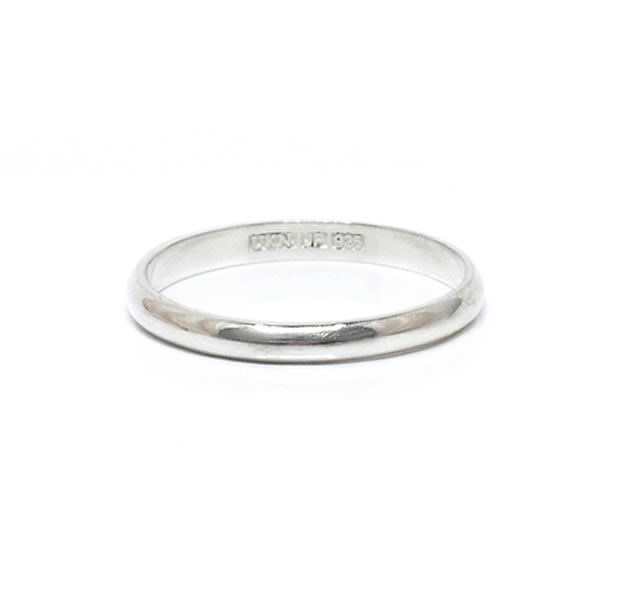 "UNKNOWN. U513 "" INSTEP1 "" RING / SILVER"