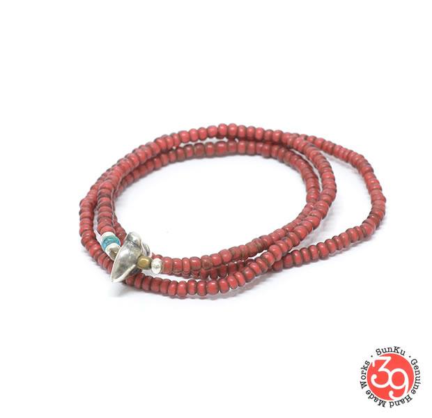 Sunku SK-204 Antique beads Necklace& Bracelet