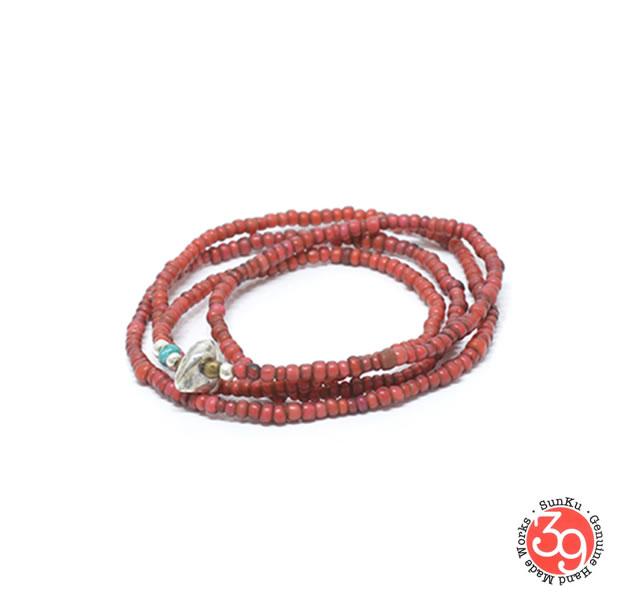 Sunku SK-230 Antique beads Necklace& Bracelet
