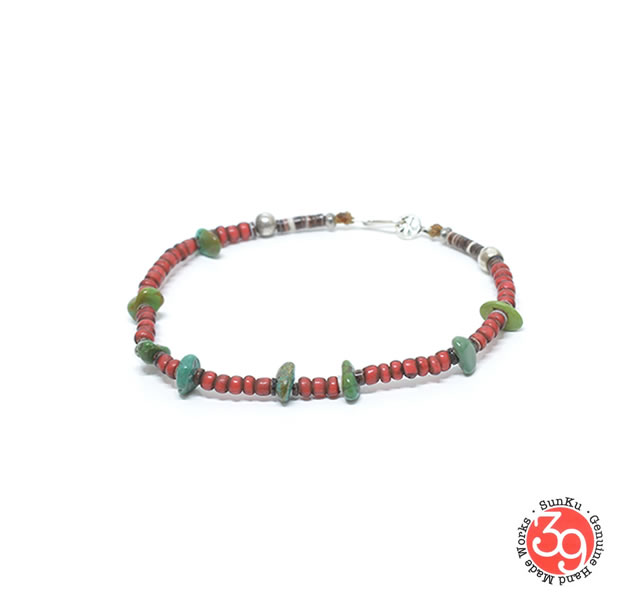 Sunku SK-232 Antique beads Bracelet