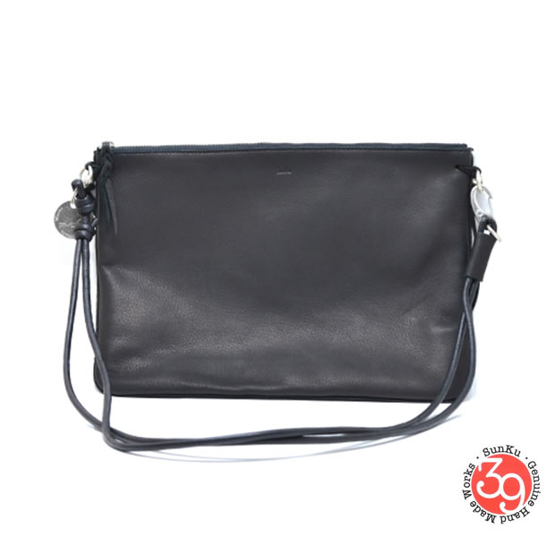 Sunku SK-209-BLK DEER LEATHER BAG