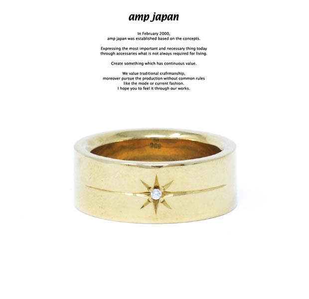 amp japan HYJK-207 Flat Brass Diamond RG