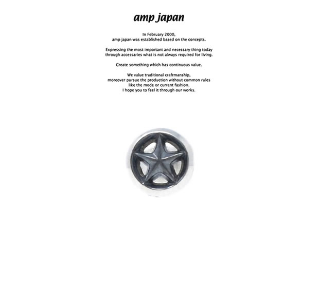 amp japan HYAAS-500 Triangle Wire Star PE