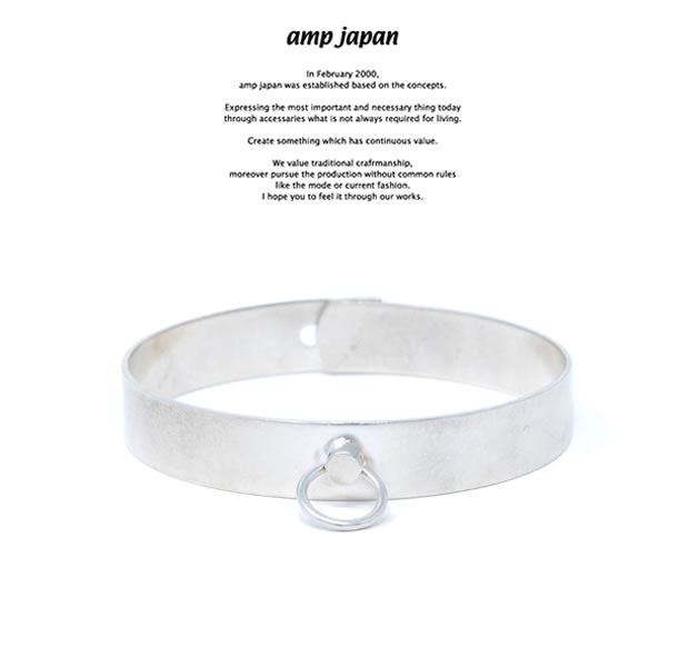 amp japan HYJK-422SV Dog collar Bangle