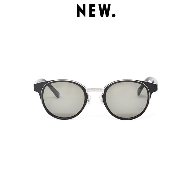 NEW. FIGARO c-1B / black/silver