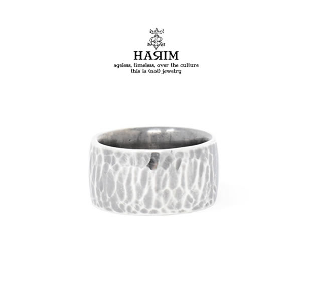 HARIM HRR041HM GOOD RING4 HAMMERED