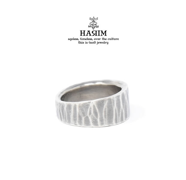 HARIM HRR042HM EDGE RING2 HAMMERED
