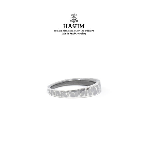 HARIM HRR043HM EDGE RING3 HAMMERED