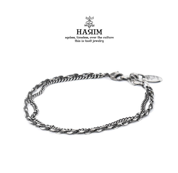 HARIM HRC008AK COMBINATION CHAIN ANKLET