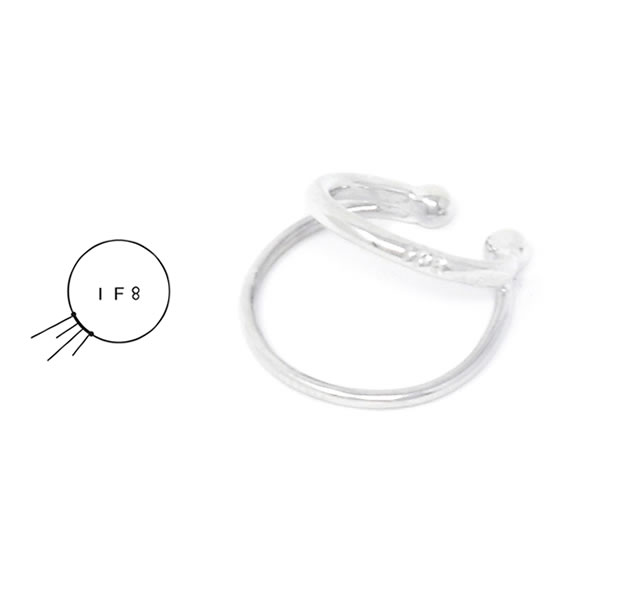 IF8 EC-02 EAR CUFF