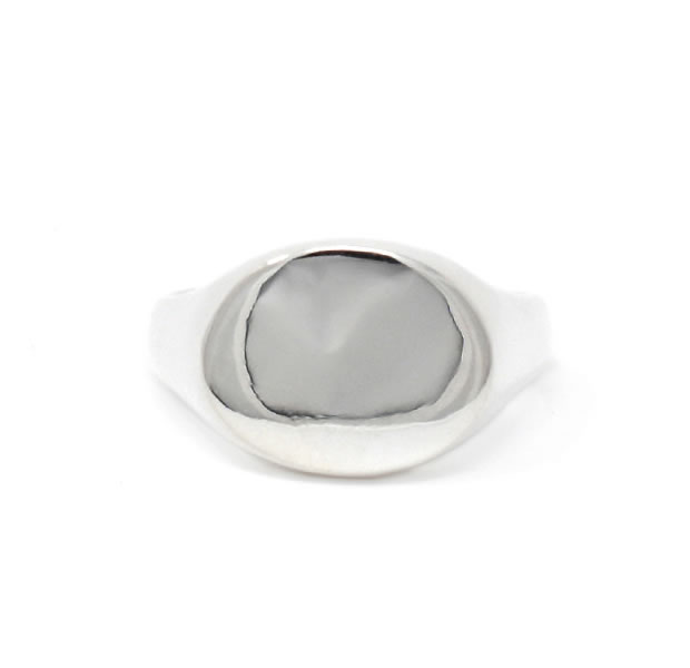 20/80 AR014 STERLING SILVER SIGNET RING