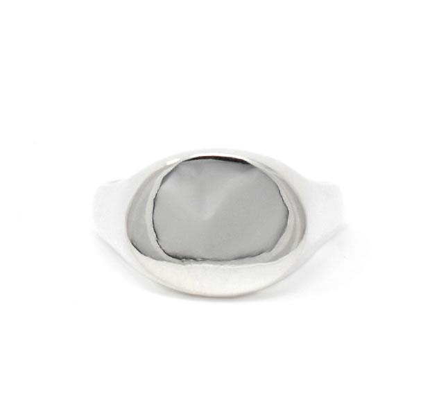 20/80 AR014 STERLING SILVER SIGNET RING