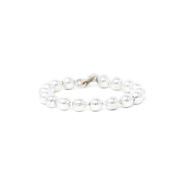 20/80 AR021 STERLING SILVER BALL CHAIN RING 3mm