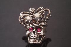 Justin Davis sgj155 Skull Pin