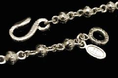 Justin Davis snj114 Carved Ball Chain 50cm