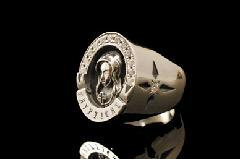 Justin Davis srj592 CRYPT ring