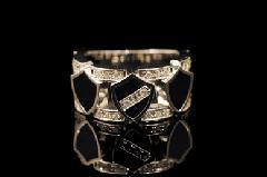 Justin Davis srj340 LAVISH DELUXE ring