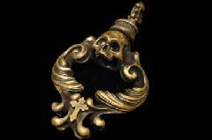 Animal Worship Silver AWSP-29 Rococo Amulet Brass Pendant