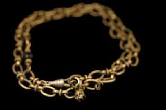 Animal Worship Silver AWSB-08 Double Roll Chain Bracelet