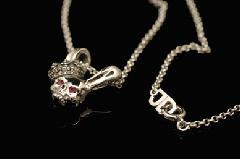 Justin Davis snj613 SKULLABBIT necklace