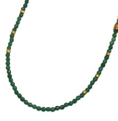 EXTREME ENO-02 Green Aventurine beads Necklace