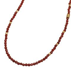 EXTREME ENO-02 Red agate beads Necklace