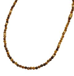 EXTREME ENO-02 Tiger eye beads Necklace
