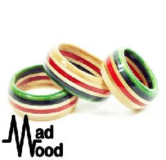 Mad Wood Border Ring