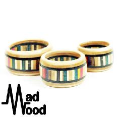 Mad Wood Channel Ring