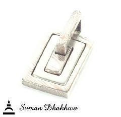 Suman Dhakhwa SD-P81Square Bramanda Pendant